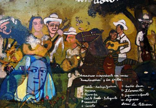 Santiago Robles, Diseño, Diseño de cartel, Ilustración, Design, Poster Design, Illustration, Los Utrera, para curar un dolor, Son Jarocho, Fandango, CD, 2010