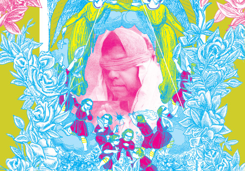 Santiago Robles, Diseño, Diseño de cartel, Ilustración, Design, Poster Design, Illustration, Virgen 3, Guadalupe-Reyes, Santiago Solís, 2010, 75 Grados Color