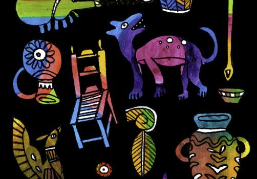 Santiago Robles, Diseño, Design, Invitación, Invitation, UCCS, Artesanías, Elena Álvarez, Diseño Gráfico, Graphic Design, Editorial, Ilustración, Illustration
