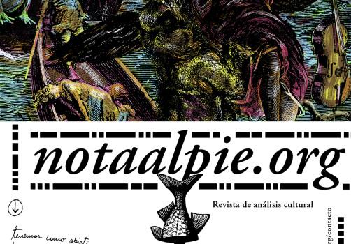 Santiago Robles, Diseño, Design, Invitación, Nota al pie, Gabriela Astorga, Crítica, Revista, Blog, Web, Rodrigo Bazán, FIRPPI, Análisis, cultura