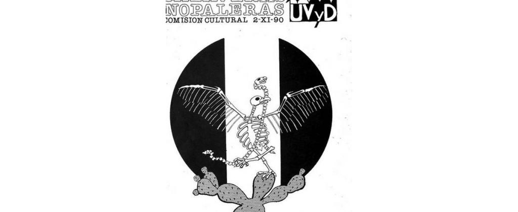 Santiago Robles, cartel, sismo 1985, UV y D, Gráfica, México