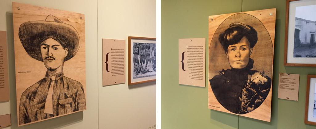 7 PabloSantiago Robles, Santiago Solís, Popof, Dibujo, Drawing, Pancho Villa, Museo Nacional de las Intervenciones, Museografía