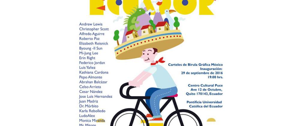 Santiago Robles, Design, poster, cartel, diseño, Ecuador, Poster design, graphic