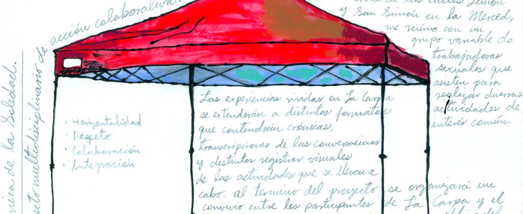 SantiagoRobles, CarpaOrgánicadeLaSoledad, La Merced, CDMX, EspacioPúblico, IntervenciónUrbana, TrabajoSexual, Dispositivo, LaCarpa, PedroOrtizAntoranz, ExTeresa, Pintura, Dibujo, Saloon, Cocina, Alimento, Espacio, Tiempo, Energía, ArteVisual, ArteContemporáneo, Arte, Art, CollaborativeArt, ArteColaborativo, VisualArt, ContemporaryArt, México, Downtown, Violence, Autorretrato, Ideas, Uñas, Entorno, Carpa