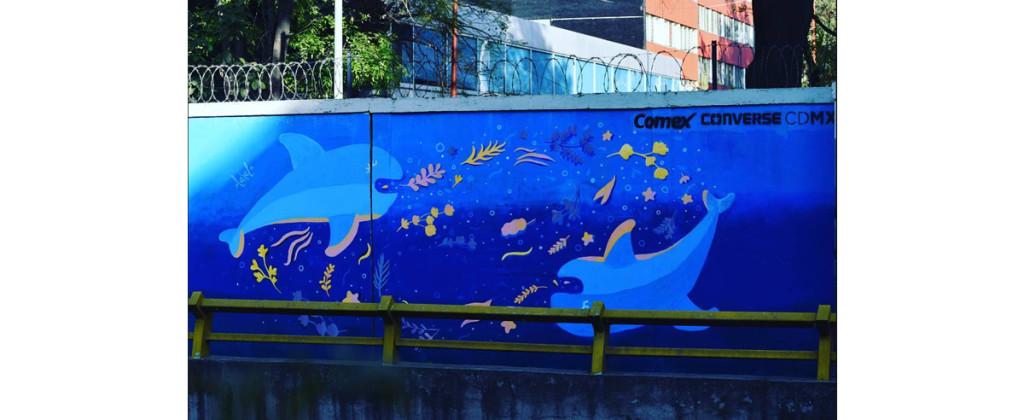Ame Alce, Equilibrio (2017), para el proyecto HidroArte de la Ciudad de México. Imagen tomada de jadagram.com