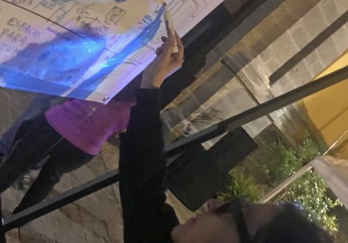SantiagoRobles, LAA, ContemporaryArt, CollaborativeArt, ArteContemporáneo, ArteColaborativo, GemmaArgüello, EmplazamientosdelaMemoria, TaniaAedo, AlamedaCentral,