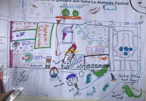 SantiagoRobles, BuscandoelPresente, PublicSpace, Art, ArteParticipativo, RelationalArt, AlamedaCentral, LaboratorioArteAlameda, EmplazamientosdelaMemoria, GemmaArgüello, MauroGiaconi, AbrahamGonzálezPacheco, LeoMarz, MaríaCerdá, NuriaMontiel, NinaFiocco, MarekWolfryd, BereniceOlmedo, ContemporaryArt, Participación, Ciudadanos, Citizens, Vecinos, Neighborhood,
