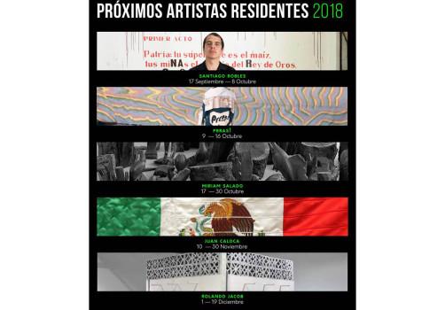SantiagoRobles, Arte, Art, ResidenciaArtistica, ArtisticResidency, Puebla, ERROR, ContemporaryArt, ArteContemporaneo, Zonasdetransición, UNARTE, LIP, UniversitarioBauhaus