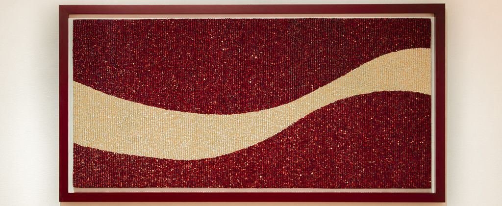 SantiagoRobles, AllWays, Art, VisualArt, ContemporaryArt, Maize, TransgenicMaize, Assemblage, Red, Rojo, Ensamblaje