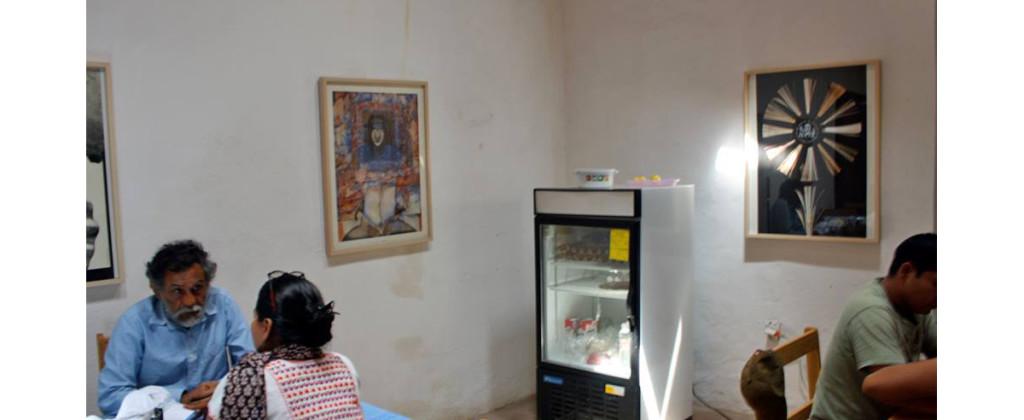 SantiagoRobles, IAGO, FranciscoToledo, Oaxaca, ContemporaryArt, ArteContemporaneo, Biblioteca, Library, Graphic, Affiche, Diseño, Design