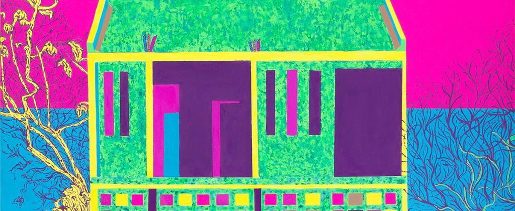 Painting, Paint, Pintura, Arte, Art, ArteVisual, VisualArt, ContemporaryArt, Color, Walk, Deriva, Rivera, River, ZonasdeTransicion, SantiagoRobles