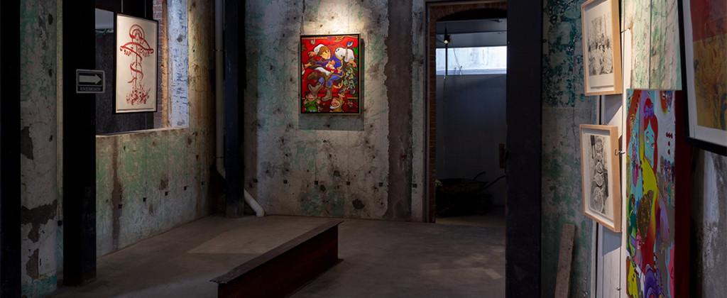 SantiagoRobles, Art, ContemporaryArt, ArteContemporaneo, Graphic, Grafica, Painting, VisualArt, ArteVisual, ChristianBarragan, CerradadelArte, TonyPliego, Cluny, SanAngel