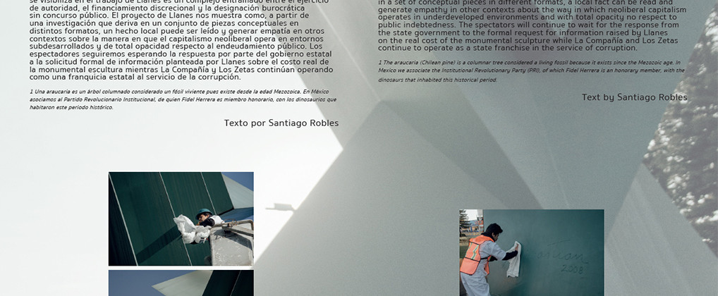 SantiagoRobles, HugoLlanes, Monumental, Exhibition, Art, VisualArt, Sebastian