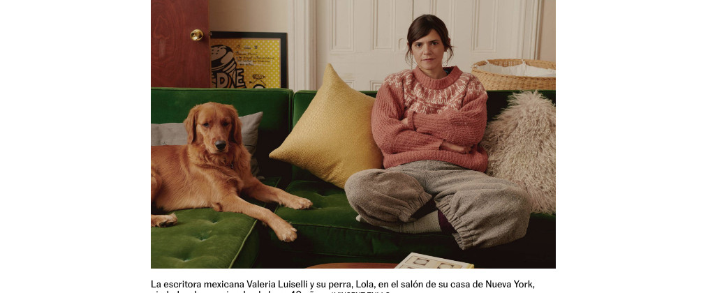 SantiagoRobles, ValeriaLuiselli, Interview, Poster, PosterDesign, Design, Diseño, DeDosSopas, Cartel, NuevaYork, NewYork, JorgeGarnica, BICM, TramaVisual