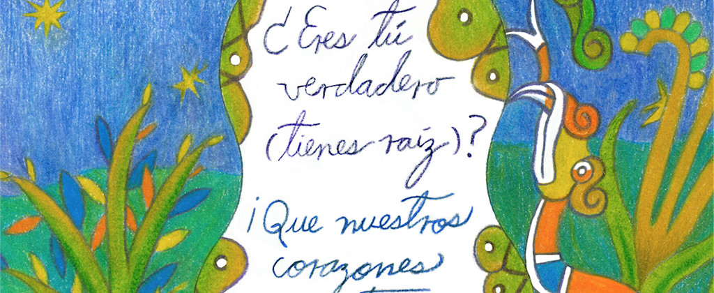SantiagoRobles, Nezahualcoyotl, Illustration, Draw, Color, Design, Covid, Prehispanic, EresTuVerdadero, SanLuis