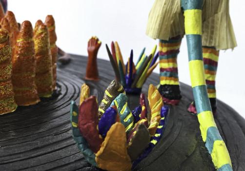 SantiagoRobles, DieAntwoord, ReCover, OmarBarquet, Diablos, SanBartoloCoyotepec, BarroNegro, Art, VisualArt, ContemporaryArt, Totomoxtle, Sculpture