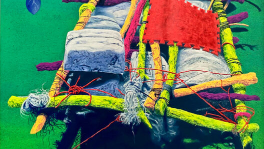 CiudadRota, Escultura, ContemporaryArt, ArteContemporaneo, Reparadora, Art, FlorenceContemporaryGallery, Paint, Painting,