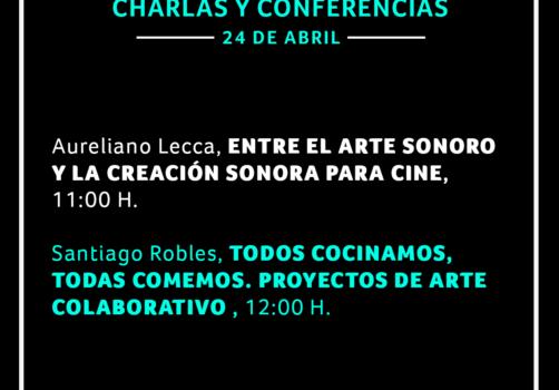SantiagoRobles, Arte, Platica, ArtesVisuales, ArteContemporaneo, UNAM, FAD, Talk,