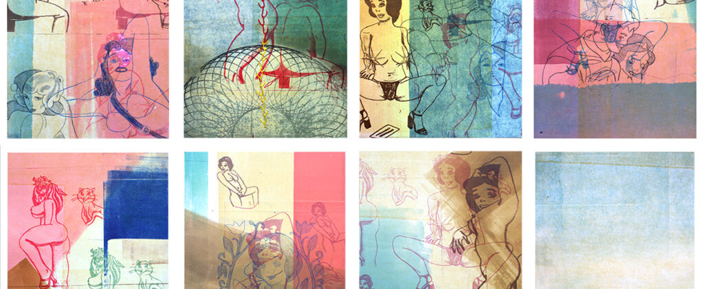 santiagorobles, grafica, graphic, print, impresion, color, monotipo, heroica, cantar, proceres, artevisual, visualart, contemporaryart