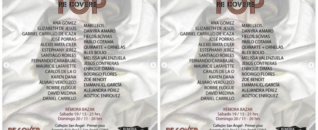 SantiagoRobles, OmarBarquet, ReCover, Music, Art, VisualArt, ContemporaryArt, ArteContemporaneo, Top, SanMigueldeAllende, TrapoGaleria