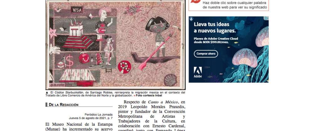 SantiagoRobles, MUNAE, Art, ContemporaryArt, Arte, Grafica, Graphic, Draw, Codice, Starbuckstlan, Codex, Donacion, VisualArt, LibrodeArtista, ArtBook