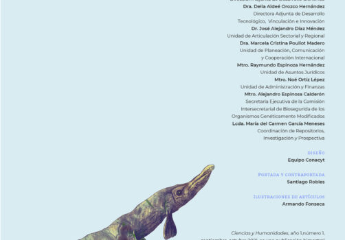 SantiagoRobles, CIencias, Humanidades, Conacyt, ElenaAlvarezBuylla, Agua, Revista, Editorial, Print, Impresion, Ajolote, Ilustración